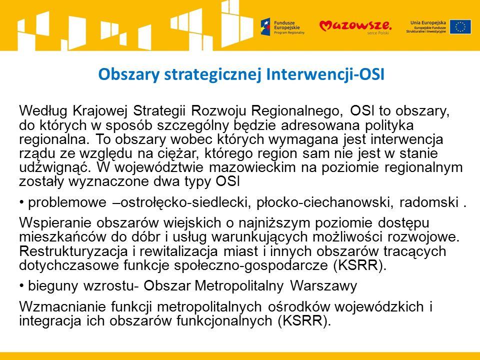 Obszary strategicznej Interwencji-OSI
