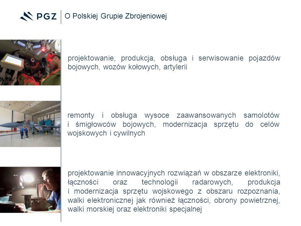 O Polskiej Grupie Zbrojeniowej