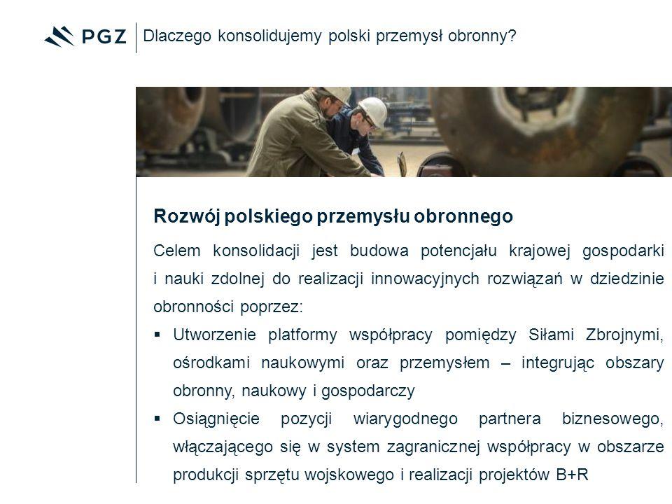 Rozwój polskiego przemysłu obronnego