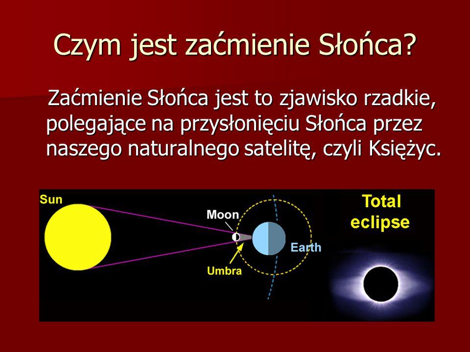 Czym jest zaćmienie Słońca