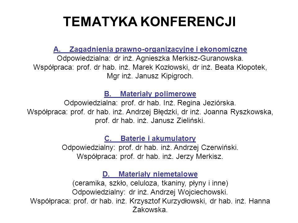 D. Materiały niemetalowe