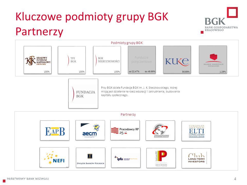 Kluczowe podmioty grupy BGK Partnerzy