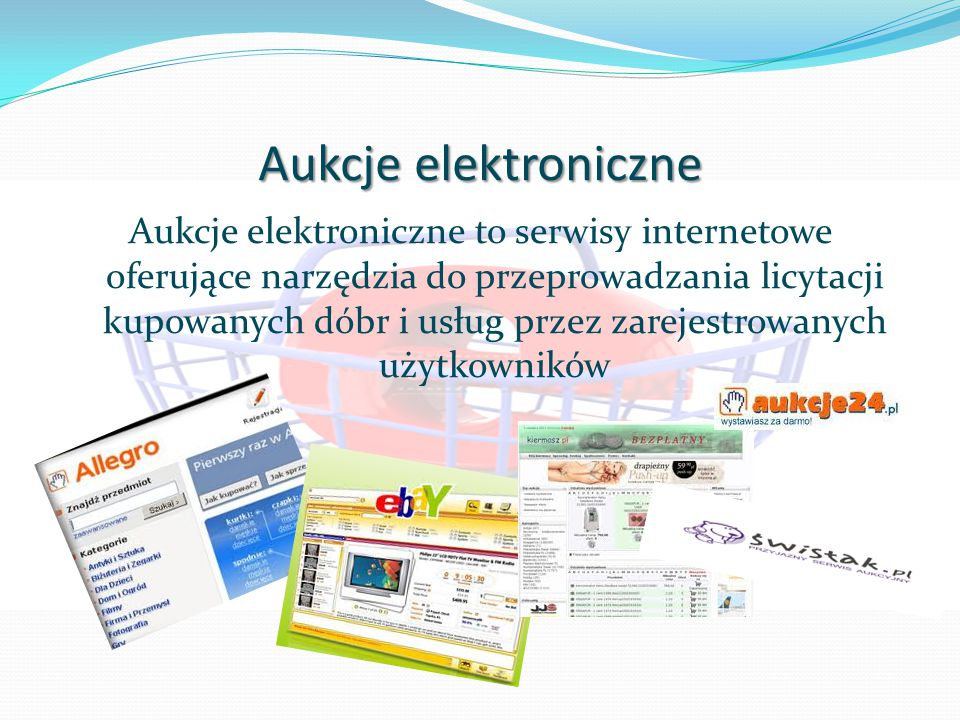 Aukcje elektroniczne