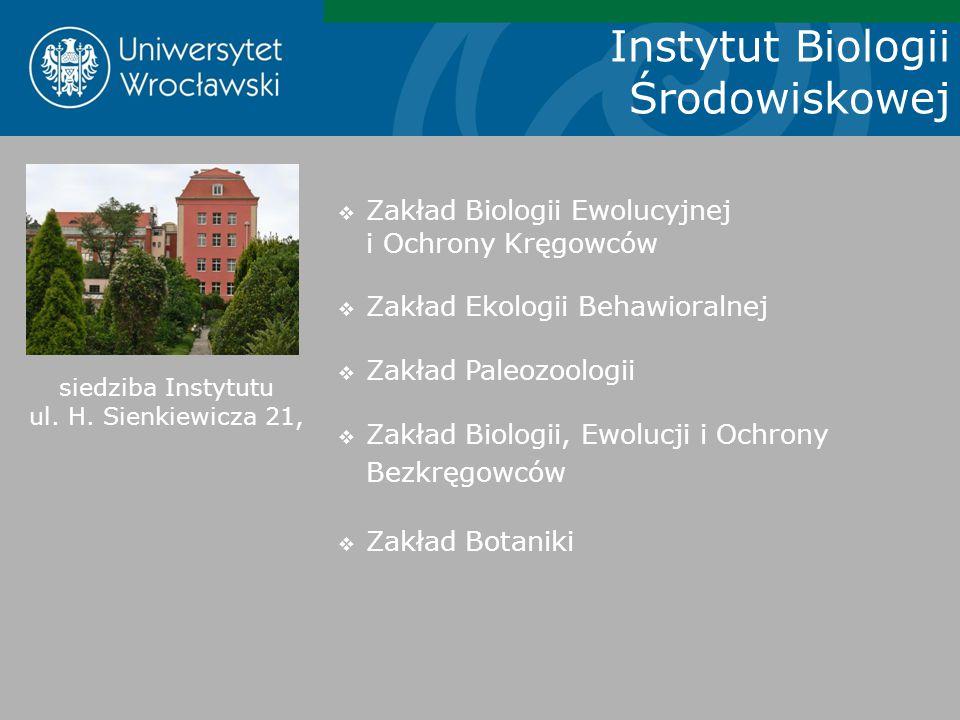 siedziba Instytutu ul. H. Sienkiewicza 21,