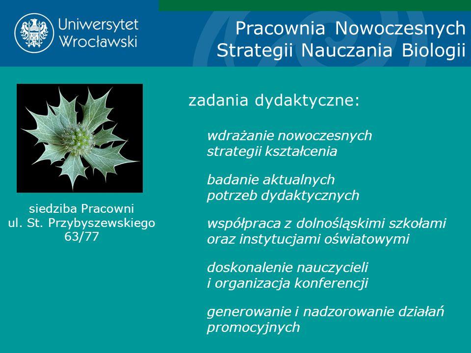 siedziba Pracowni ul. St. Przybyszewskiego 63/77