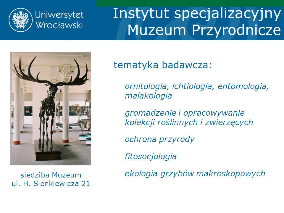 siedziba Muzeum ul. H. Sienkiewicza 21