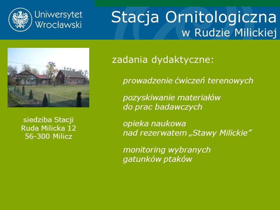 siedziba Stacji Ruda Milicka 12 56-300 Milicz