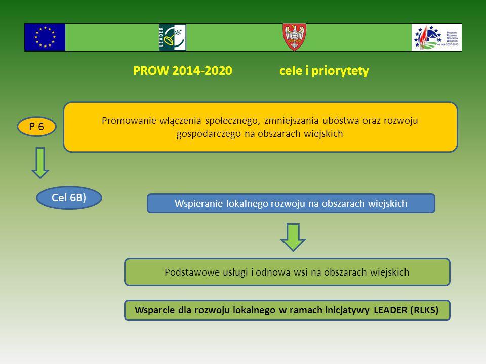 Wsparcie dla rozwoju lokalnego w ramach inicjatywy LEADER (RLKS)