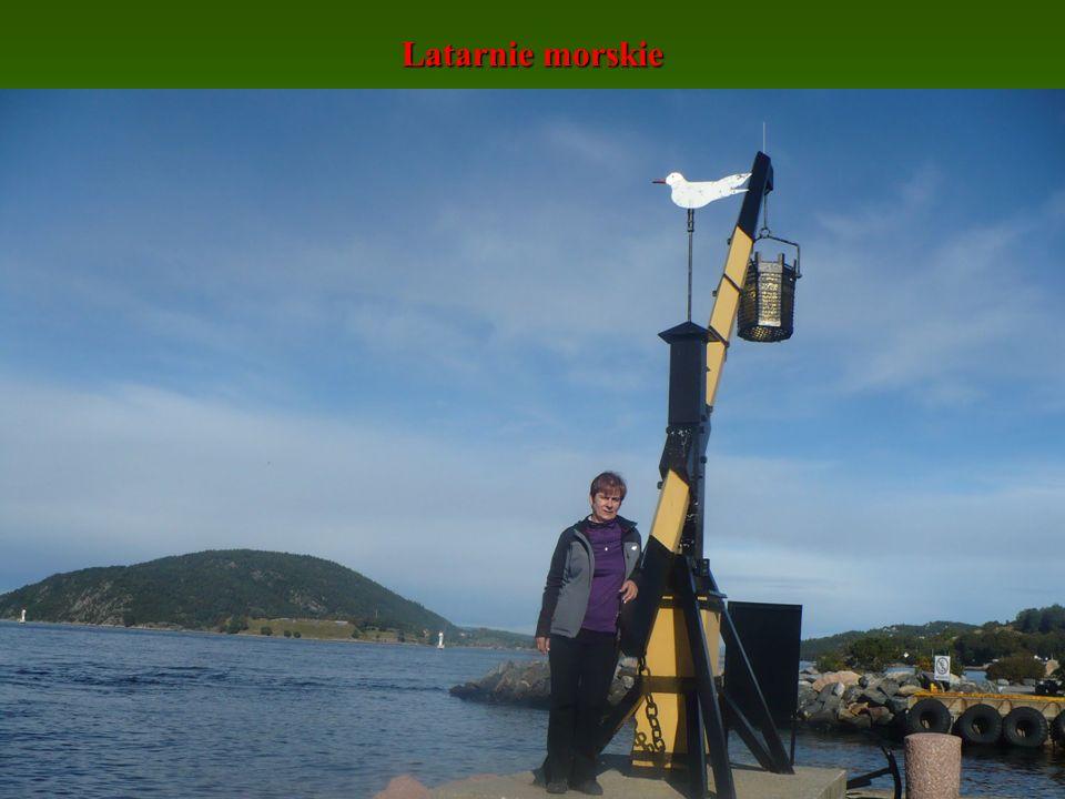 Latarnie morskie Żuraw w Drobak - Norwegia