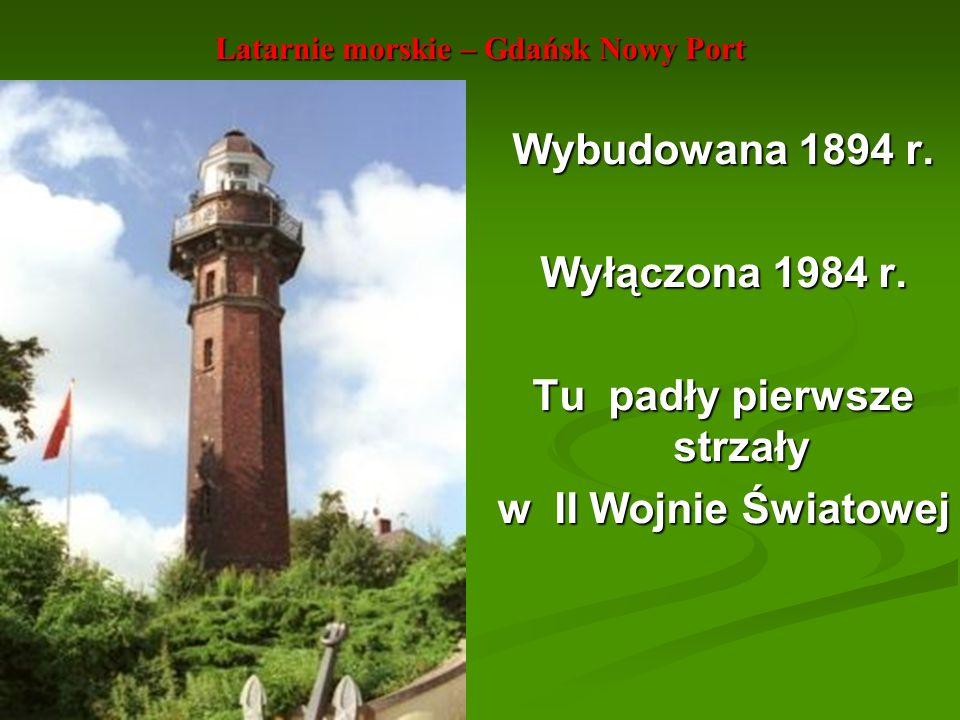 Latarnie morskie – Gdańsk Nowy Port