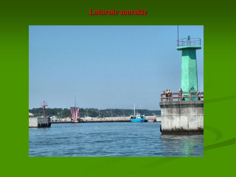 Latarnie morskie Prawa główka portu we Władysławowie.