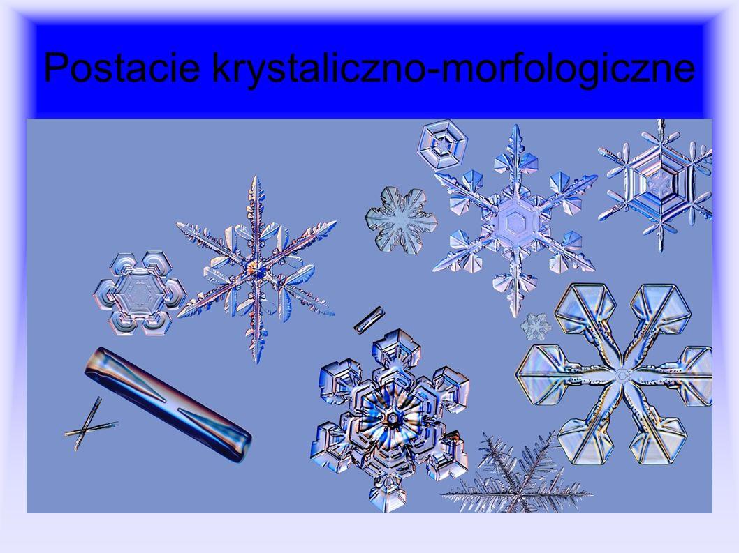 Postacie krystaliczno-morfologiczne