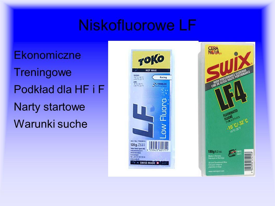 Niskofluorowe LF Ekonomiczne Treningowe Podkład dla HF i F