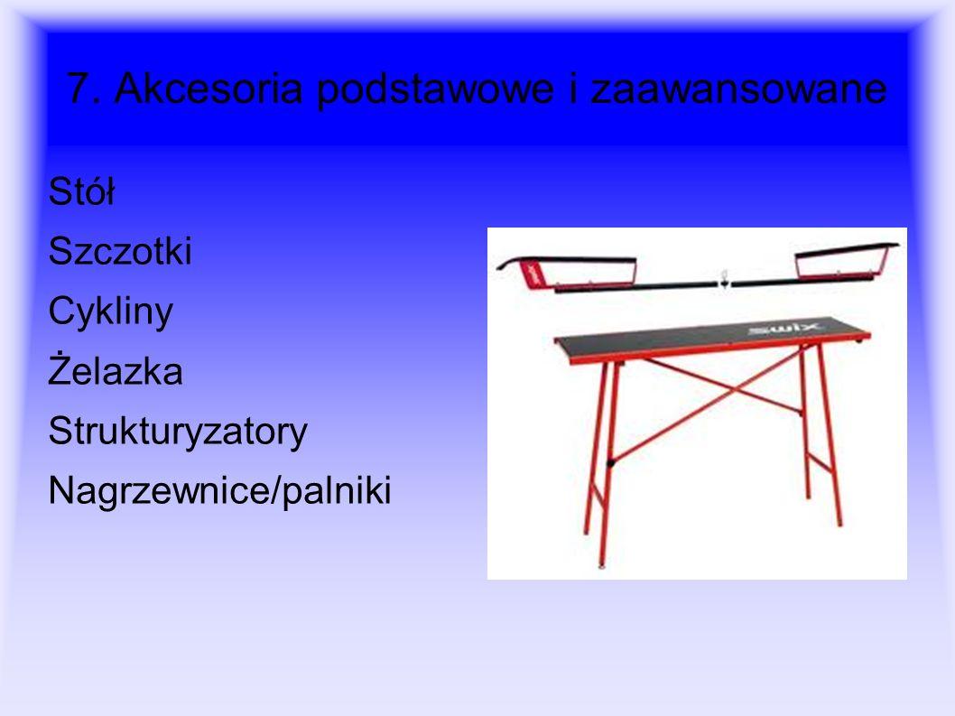 7. Akcesoria podstawowe i zaawansowane