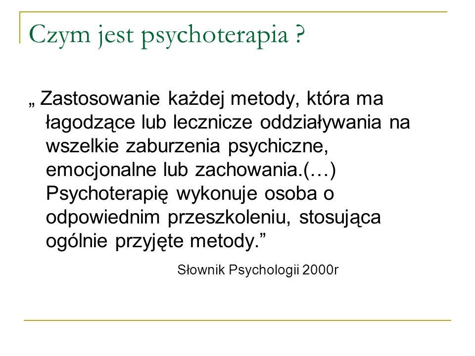 Czym jest psychoterapia