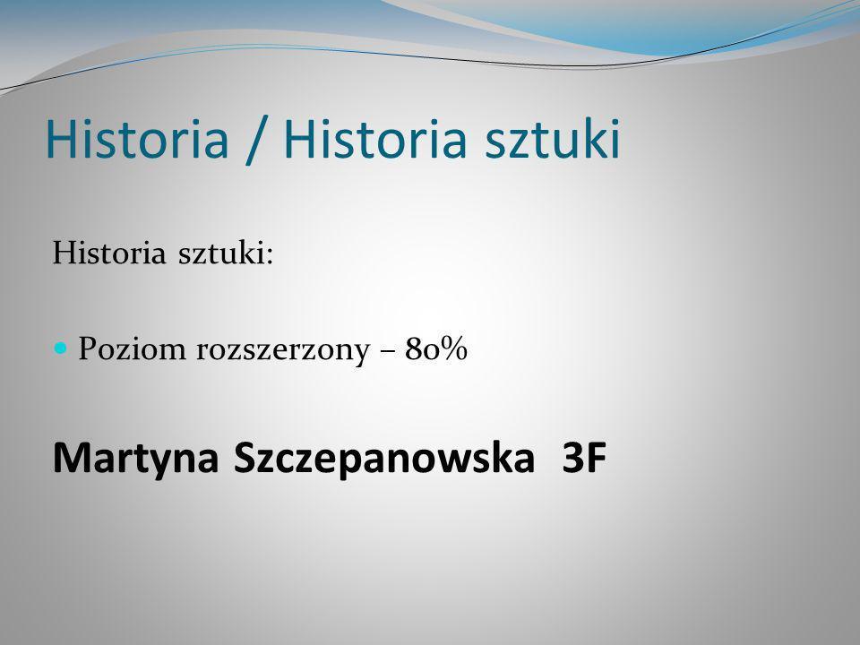 Historia / Historia sztuki