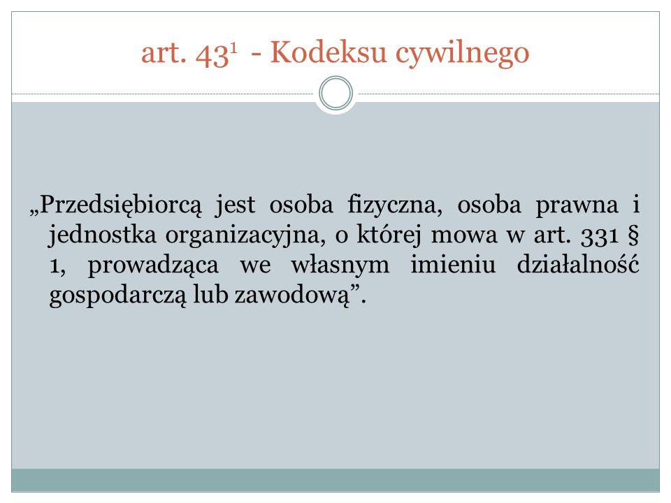 art. 431 - Kodeksu cywilnego
