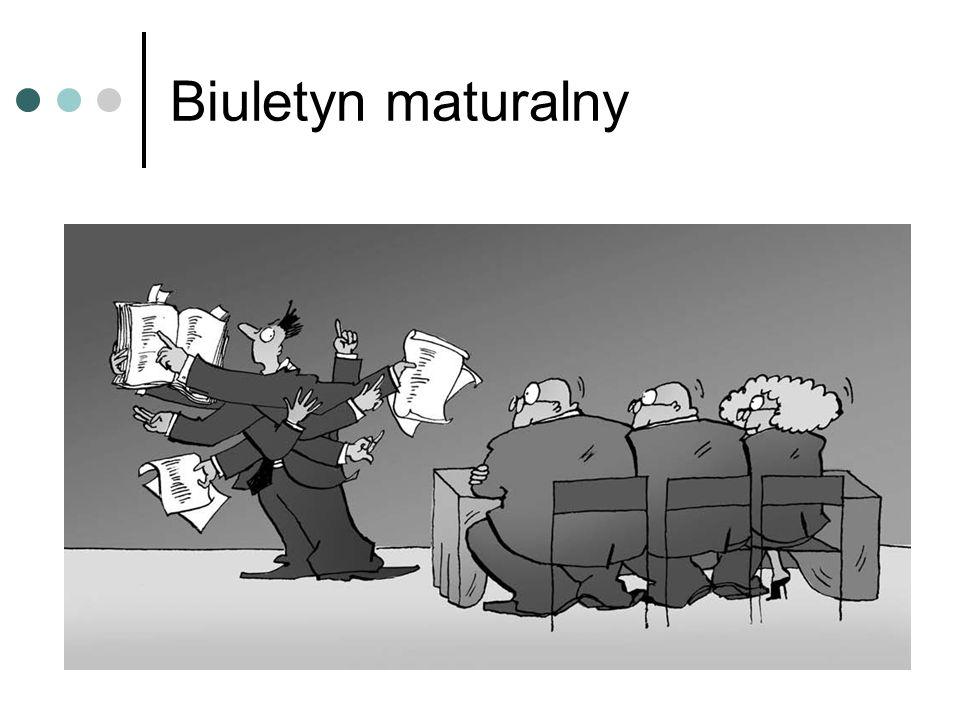 Biuletyn maturalny