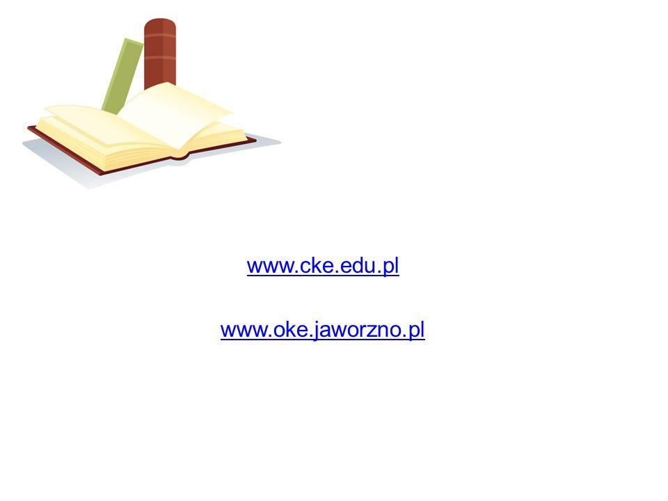 www.cke.edu.pl www.oke.jaworzno.pl