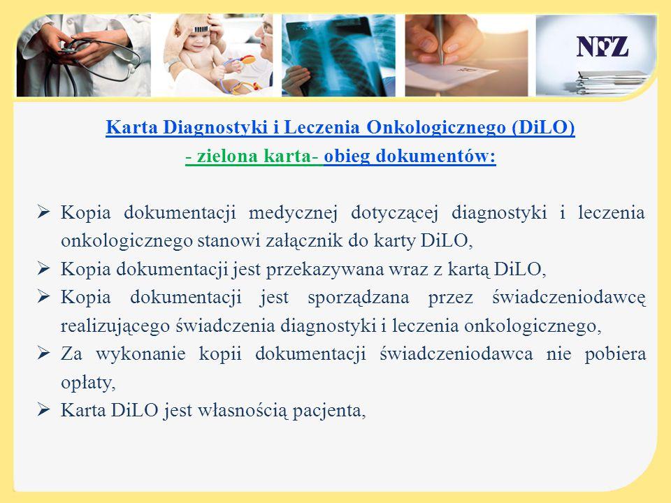 Karta Diagnostyki i Leczenia Onkologicznego (DiLO)