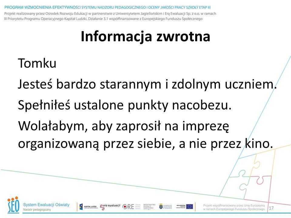 Informacja zwrotna