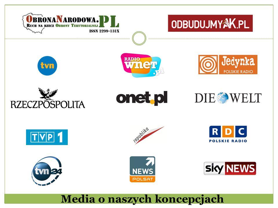 Media o naszych koncepcjach