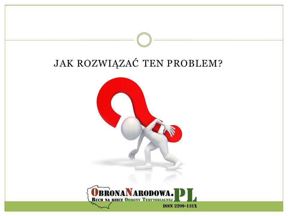 JAK ROZWIĄZAĆ TEN PROBLEM