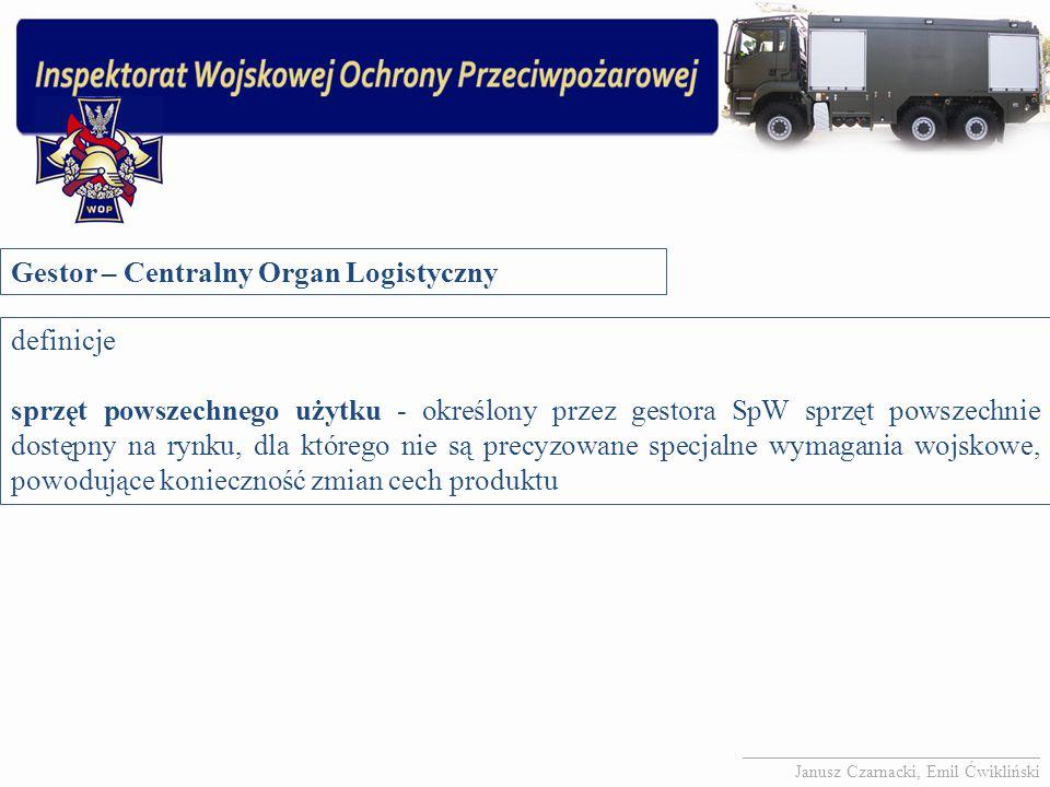 Gestor – Centralny Organ Logistyczny