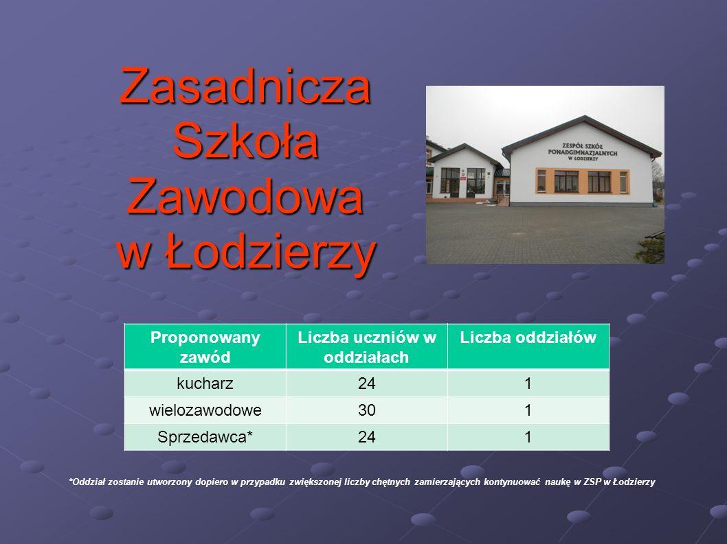 Zasadnicza Szkoła Zawodowa w Łodzierzy