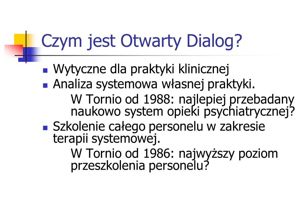 Czym jest Otwarty Dialog