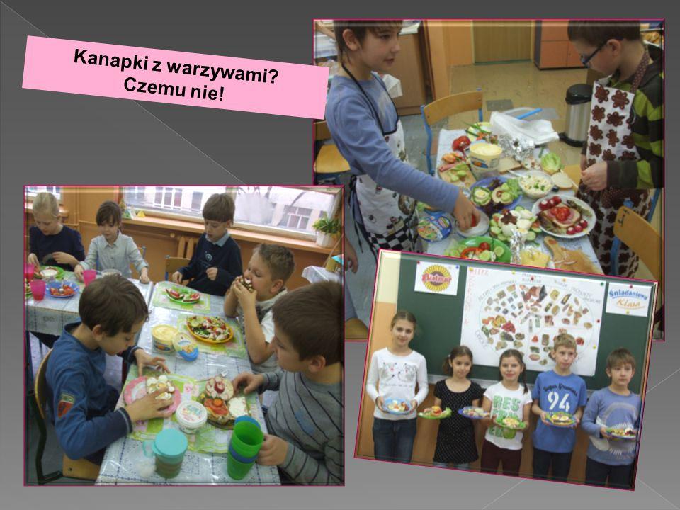 Kanapki z warzywami Czemu nie!