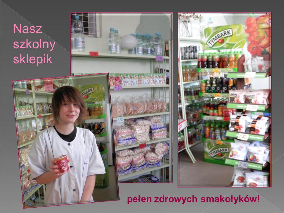 Nasz szkolny sklepik pełen zdrowych smakołyków!