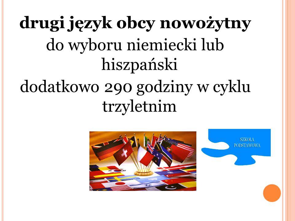 drugi język obcy nowożytny