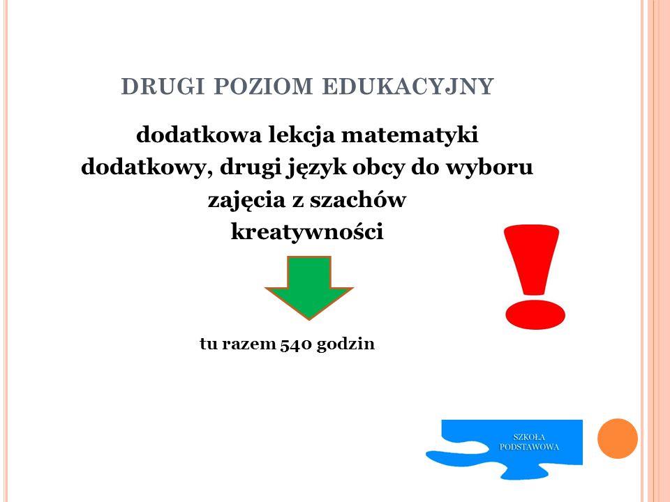 drugi poziom edukacyjny
