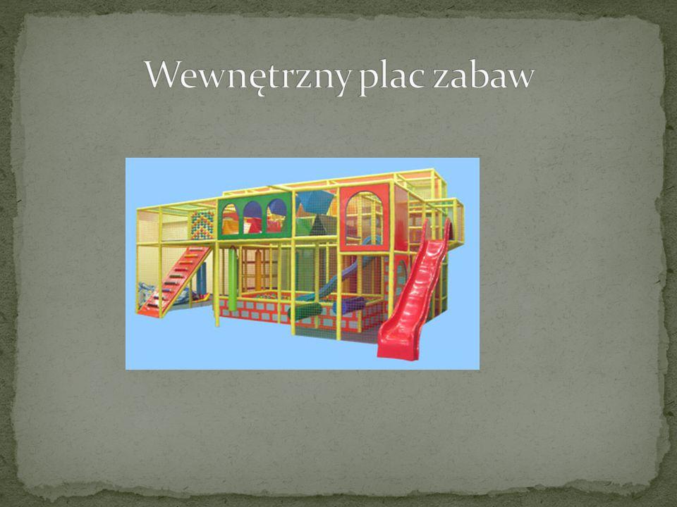 Wewnętrzny plac zabaw