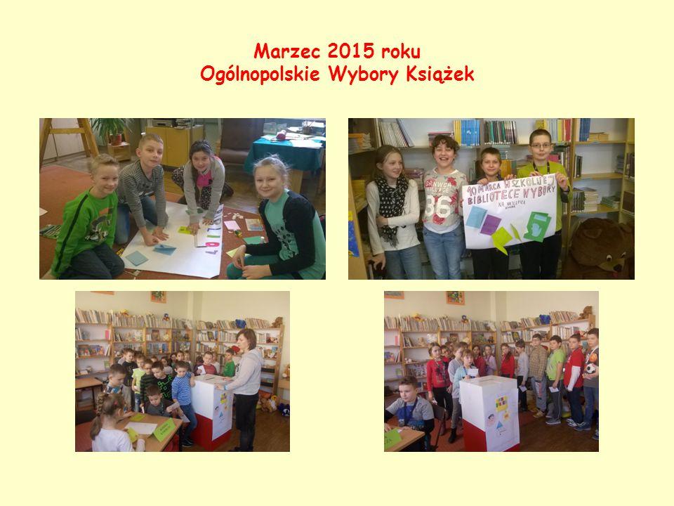 Marzec 2015 roku Ogólnopolskie Wybory Książek