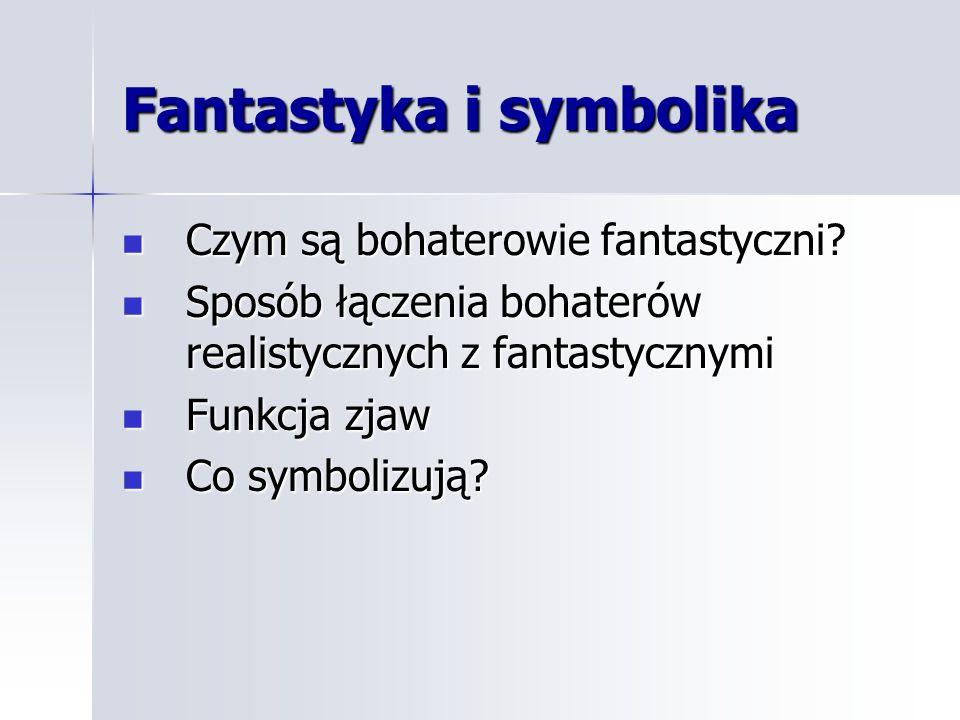 Fantastyka i symbolika