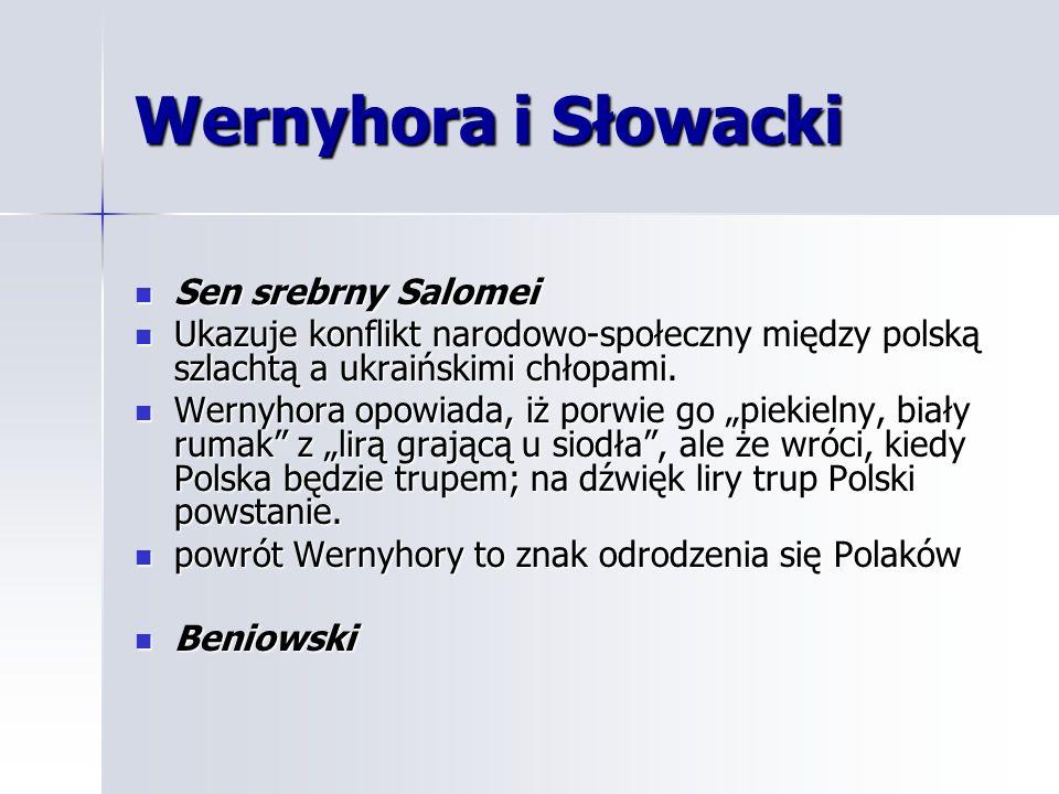 Wernyhora i Słowacki Sen srebrny Salomei