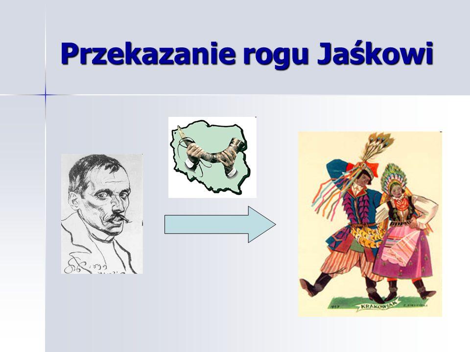 Przekazanie rogu Jaśkowi
