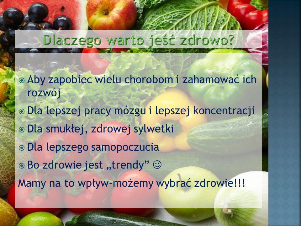 Dlaczego warto jeść zdrowo