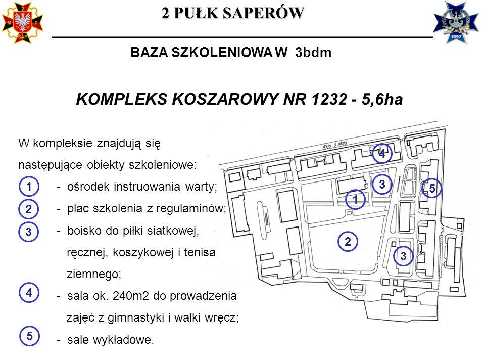 KOMPLEKS KOSZAROWY NR 1232 - 5,6ha