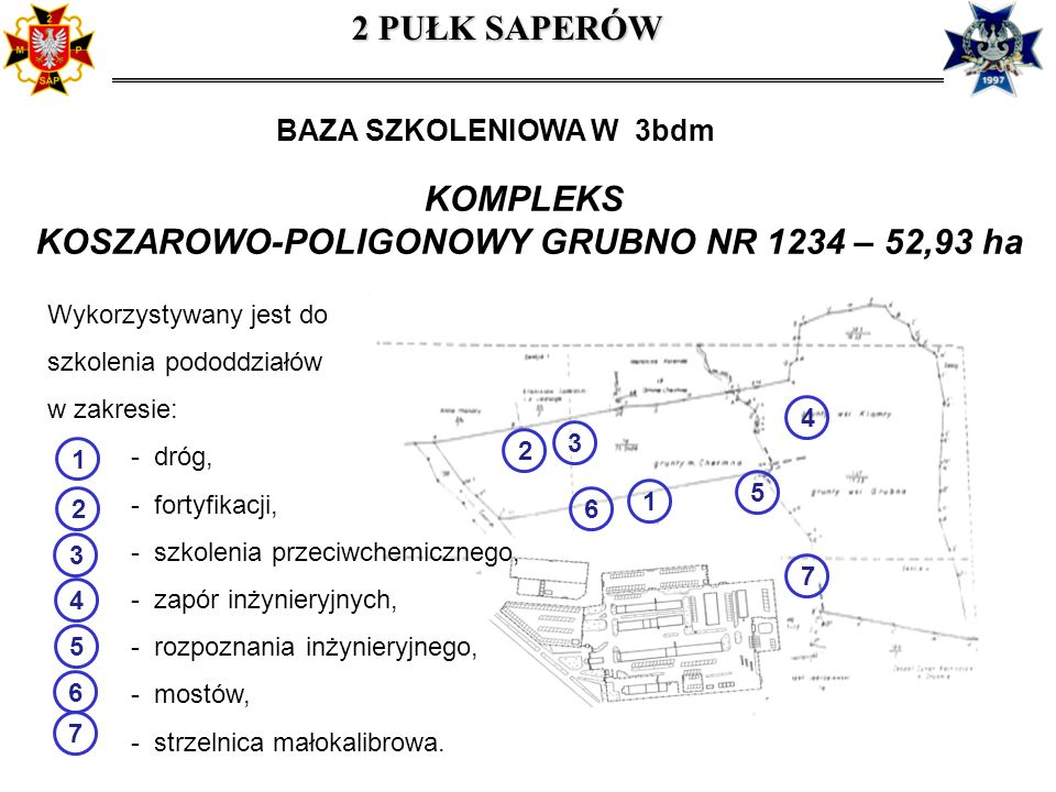 KOSZAROWO-POLIGONOWY GRUBNO NR 1234 – 52,93 ha