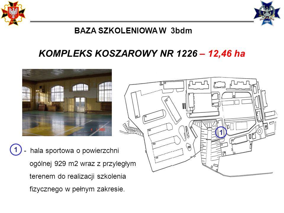 KOMPLEKS KOSZAROWY NR 1226 – 12,46 ha