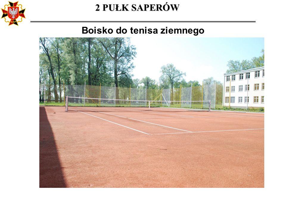 Boisko do tenisa ziemnego
