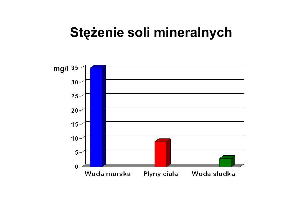 Stężenie soli mineralnych