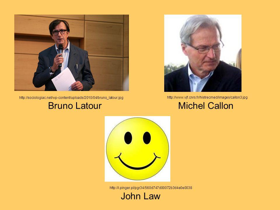 Bruno Latour Michel Callon John Law