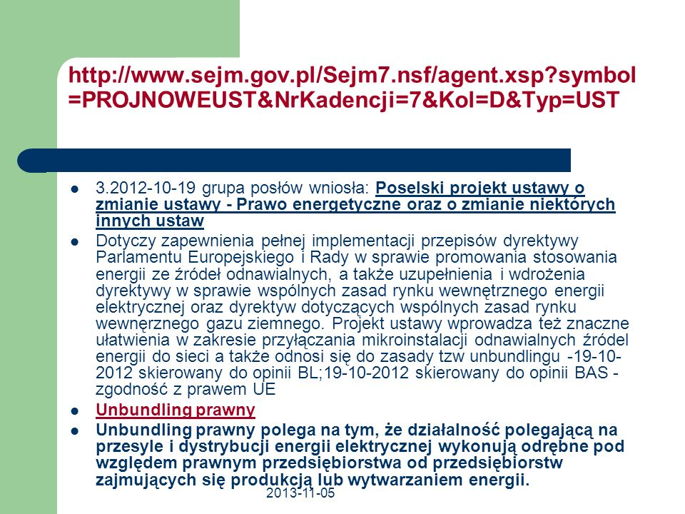 http://www. sejm. gov. pl/Sejm7. nsf/agent. xsp