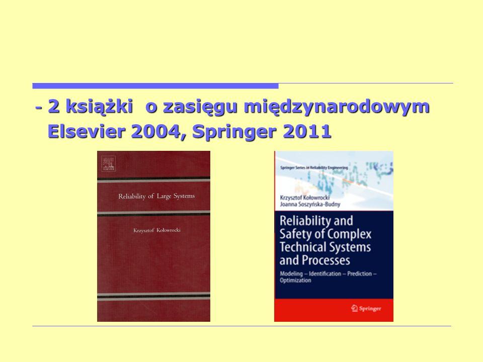 - 2 książki o zasięgu międzynarodowym