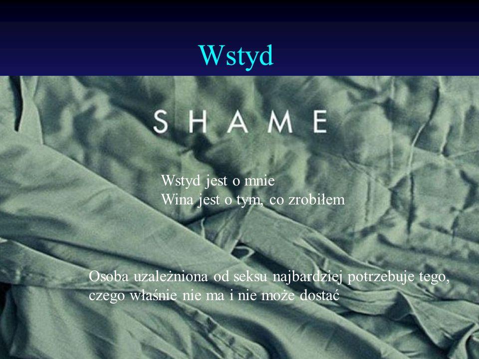 Wstyd Wstyd jest o mnie Wina jest o tym, co zrobiłem