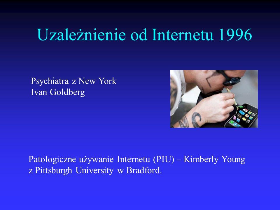 Uzależnienie od Internetu 1996